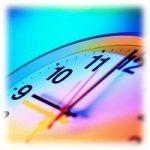 Het nieuwe werken - klok