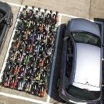 Auto en vouwfiets