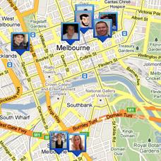 Foursquare, zie wie waar werkt en leeft