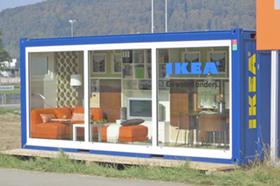 Voorbeeld IKEA-zeecontainer