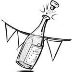 Recept 49: Vier je succes; champagnetaart