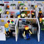 Afleiding in de kantoortuin van Het Nieuwe Werken