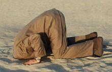 Kop in het zand voor Het Nieuwe Werken