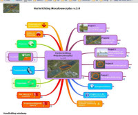 Programma dashboard mindmap visualisatie