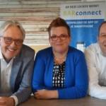 V.l.n.r. Robert de Winter, manager afdeling Automatisering van de BAR-organisatie, Caroline de Ruysscher, zelfstandig facility professional, en Johan Verschoor, adviseur bij de afdeling Automatisering van de BAR-samenwerking.