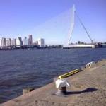 "Erasmusbrug, ""De Zwaan"", Rotterdam"