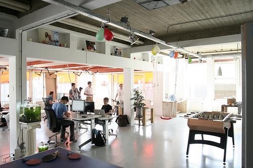 Springest kantoor het nieuwe werken blog verruimt uw for Ontwerp kantoorinrichting