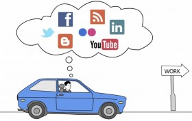 people expect to be able to use social media within the company