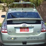 Zelfsturende auto (afbeelding van autoweek.nl)