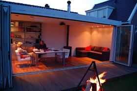 Ideale Thuiswerkplek zomeravond