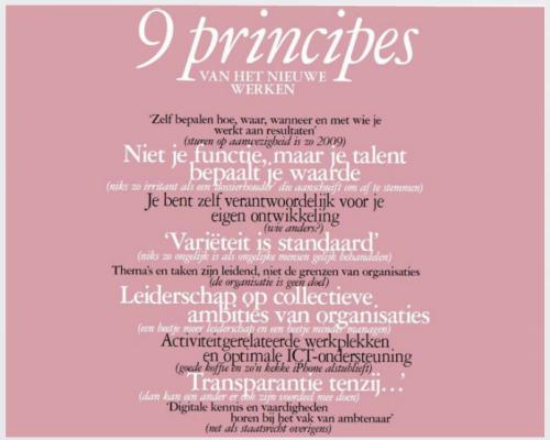 De 9 principes van HNW