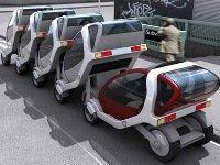 Futuristische wagens