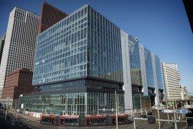 Nederland, Den haag, 20161123 In aanbouw zijnde Rijnstraat 8, het gebouw waar in totaal 6000 ambtenaren terecht zullen (kunnen) komen. Foto: (c) Kick Smeets / Rijksoverheid 2016